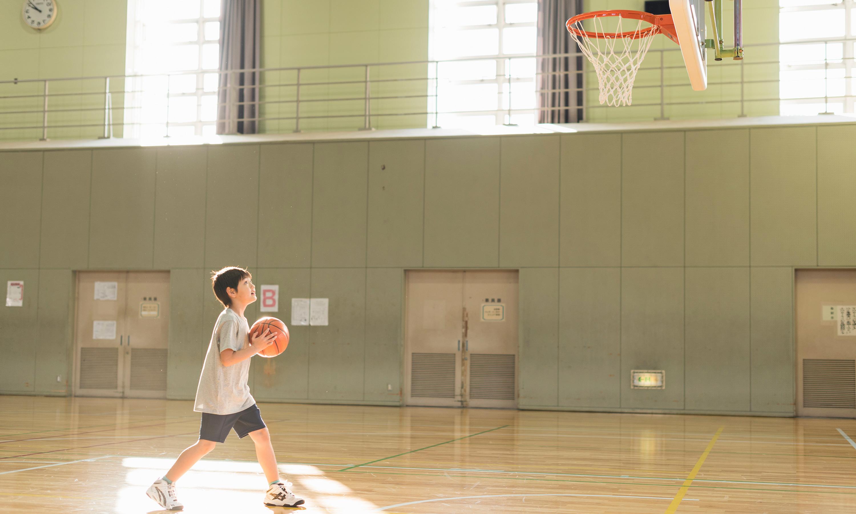新潟県東蒲原郡阿賀町の小学校を拠点に活動中のミニバスチーム